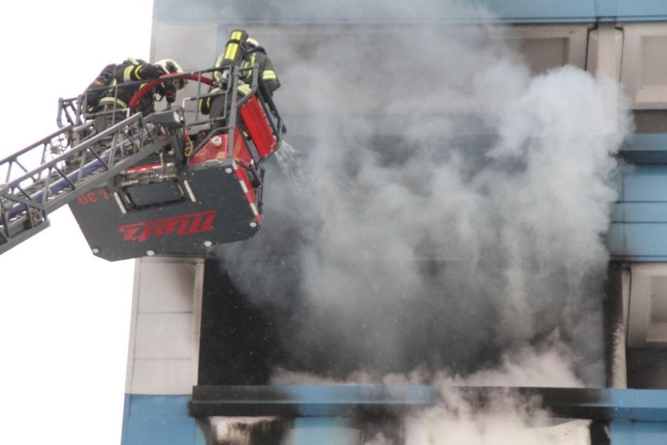 Großalarm für die Feuerwehren der Stadt Hoyerswerda am Sonntagmittag.