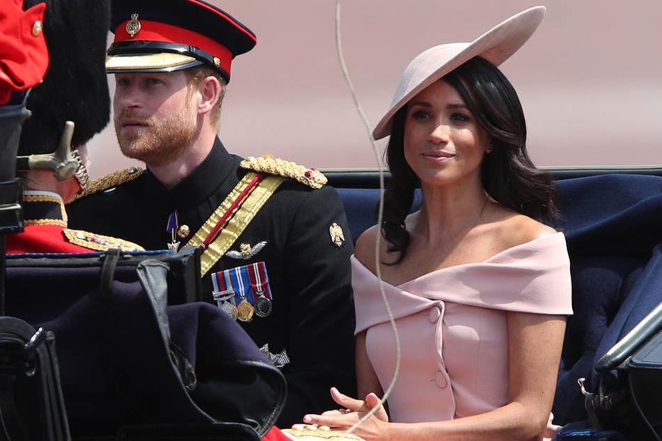 Prinz Harry und Herzogin Meghan ziehen bald um.