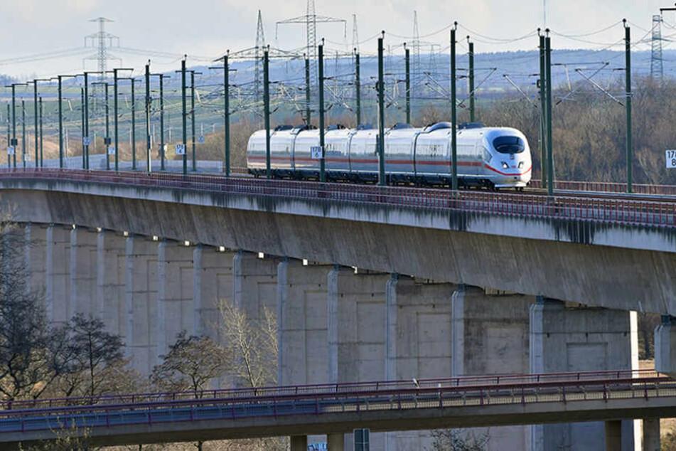 Die ICE-Neubaustrecke ist das Vorzeige-Objekt der Deutschen Bahn.