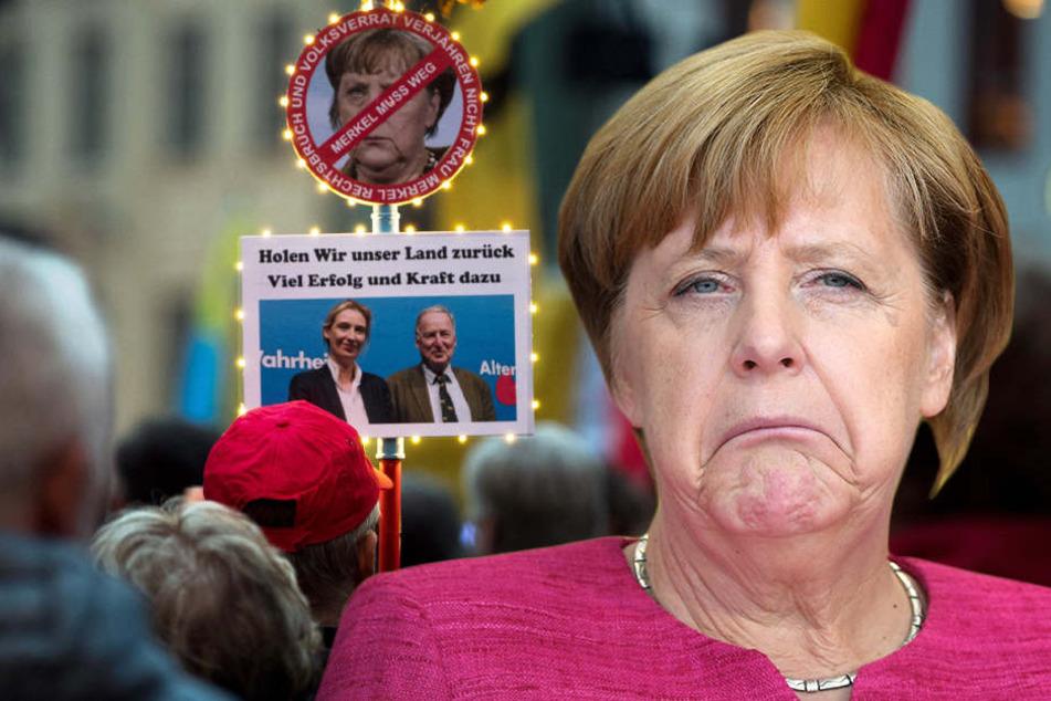 Wegen der Aktivitäten im Netz und aus polizeilichen Erfahrungen wird mit Störungen bei Merkels Dresden-Besuch gerechnet.