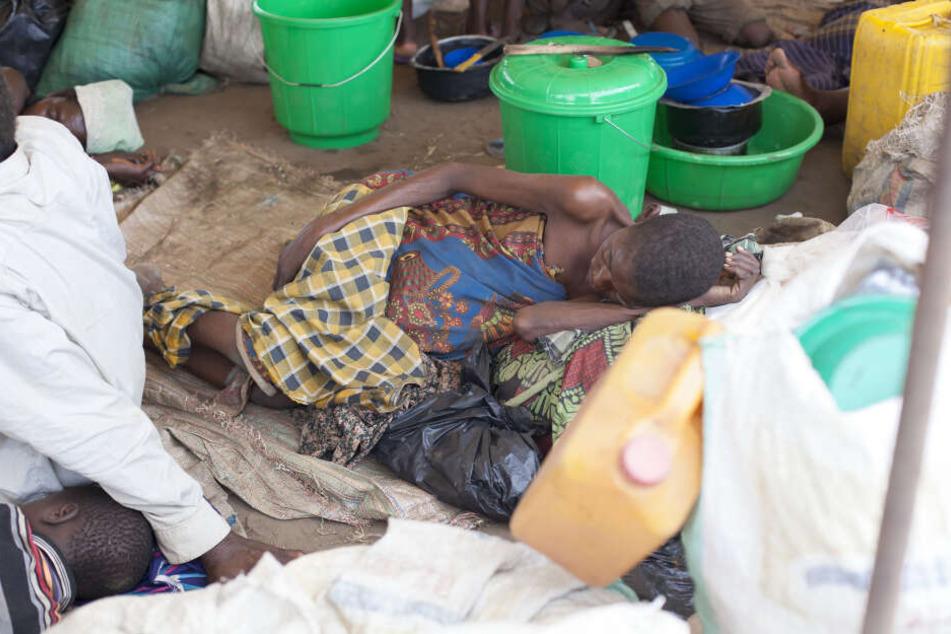 Viele Menschen leiden an Hunger und Unterversorgung.