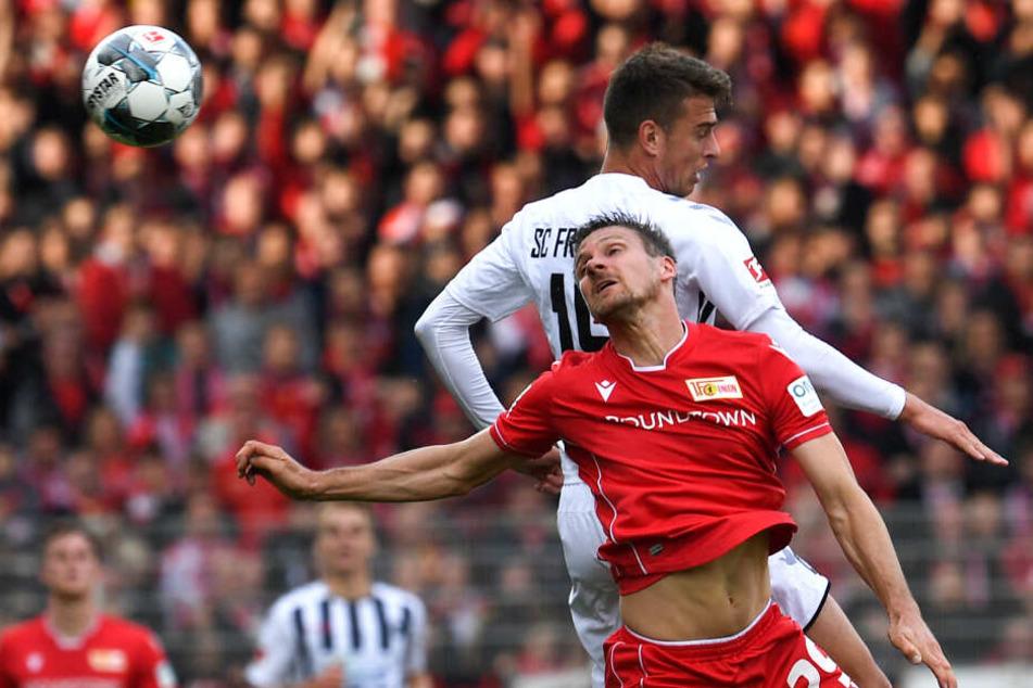 Unions Michael Parensen feierte gegen den SC Freiburg sein Bundesliga-Debüt.