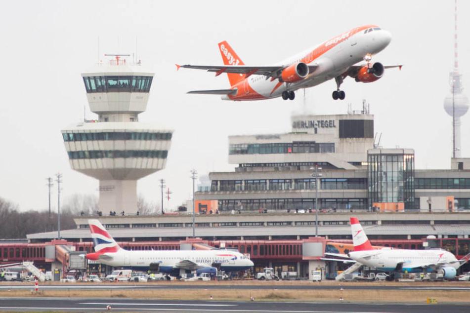 In Tegel fallen zahlreiche Flüge aus. (Symbolbild)