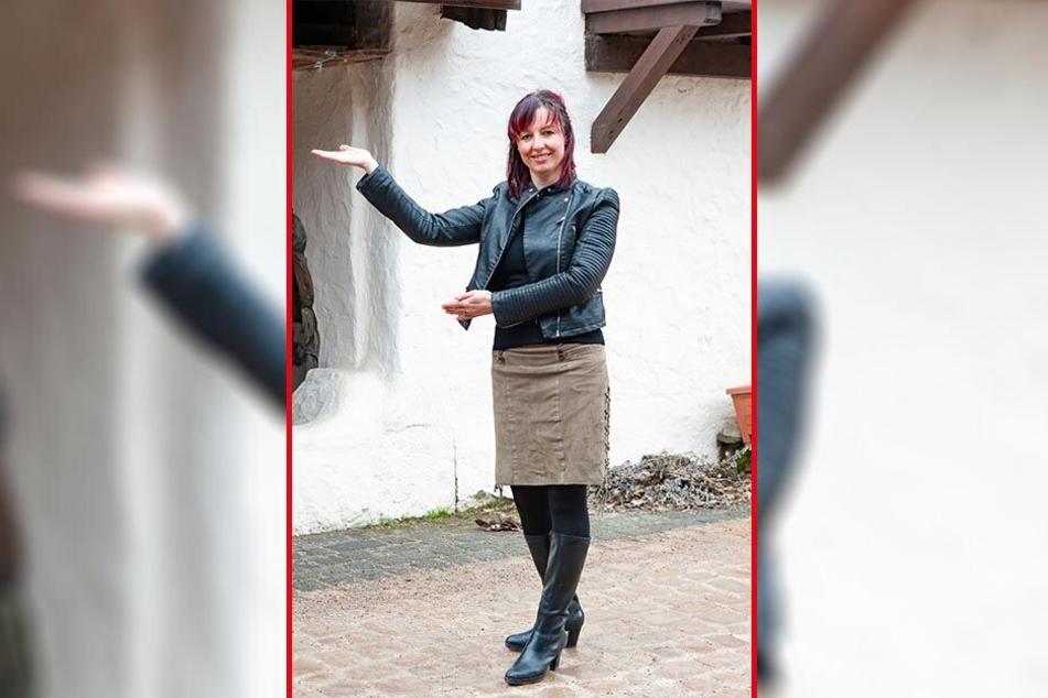 Traumjob Achterbahn-Betreuer? Laut Katja Martin (41) vom Freizeitpark Plohn sollte man dafür besser nicht unter Höhenangst leiden!