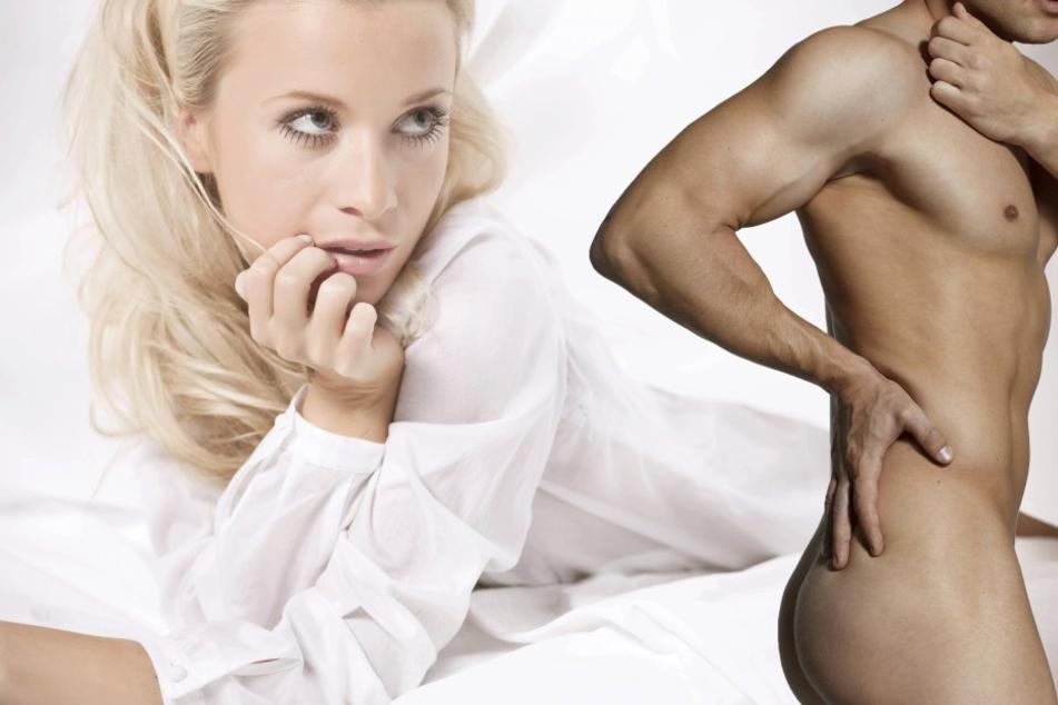 Die meisten Frauen schauen bei Männer zuerst in die Körpermitte.