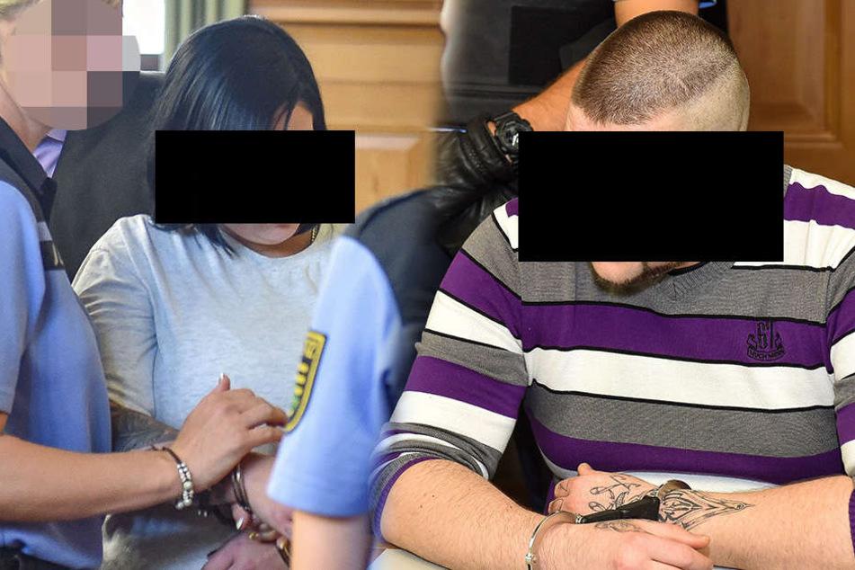 Die beiden Angeklagten im Görlitzer Bratpfannenmord.