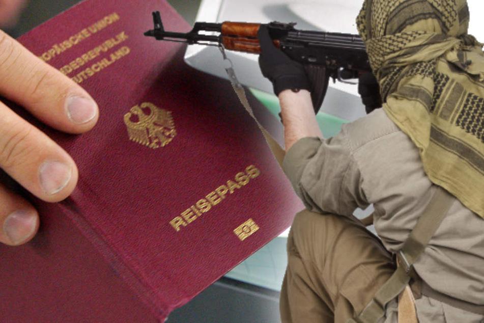 Von den bekannten Dschihadisten besitzen mehr als die Hälfte die deutsche Staatsbürgerschaft. (Bildmontage)
