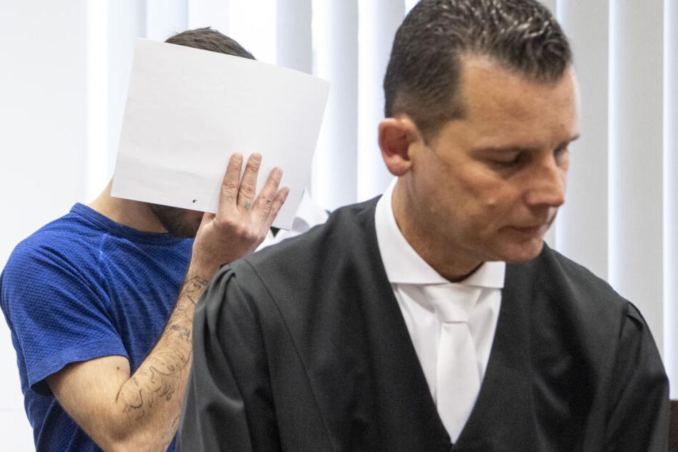 Der irakische Flüchtling Ali Bashar (Li.) wurde zu einer lebenslangen Haftstrafe verurteilt.