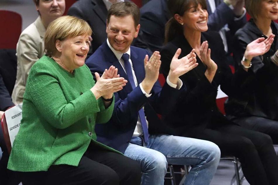 Blitz-Besuch der Kanzlerin! Was macht Merkel sonntags in Chemnitz?