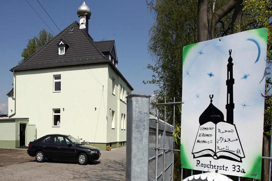 Die Al-Rahman-Moschee in der Roscherstraße gilt als ein Zentrum der deutschen Salafistenszene.