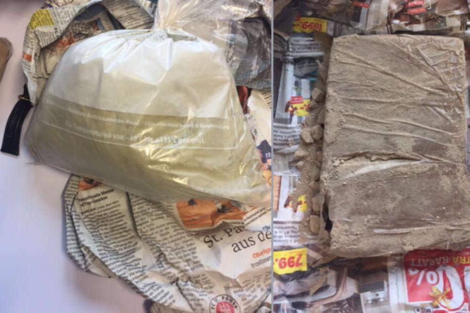 Polizei stellt Heroin und Kokain im Wert von 80.000 Euro sicher