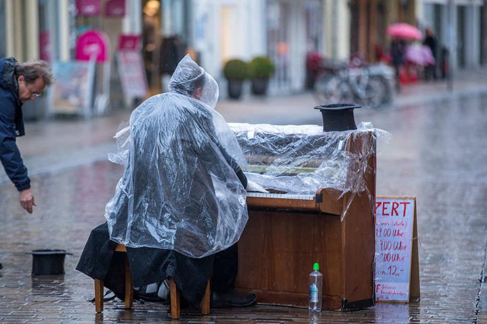Straßenmusiker in Köln dürfen nur noch ohne elektrische Verstärker oder Lautsprecher musizieren. (Symbolbild)