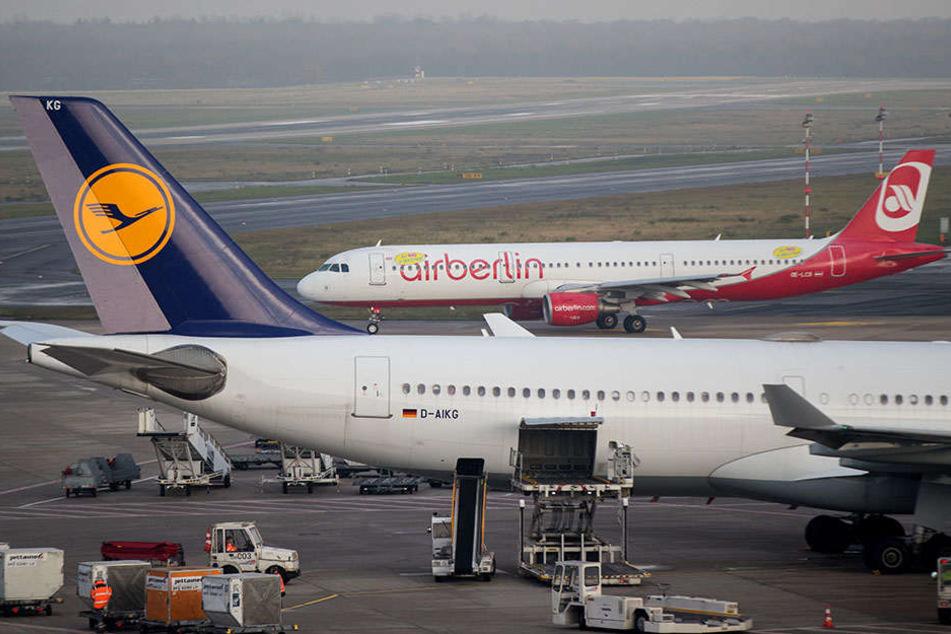 Die Lufthansa hat nach Angaben der EU-Wettbewerbshüter kurz vor Fristende Zugeständnisse für die angestrebte Air-Berlin-Übernahme gemacht.