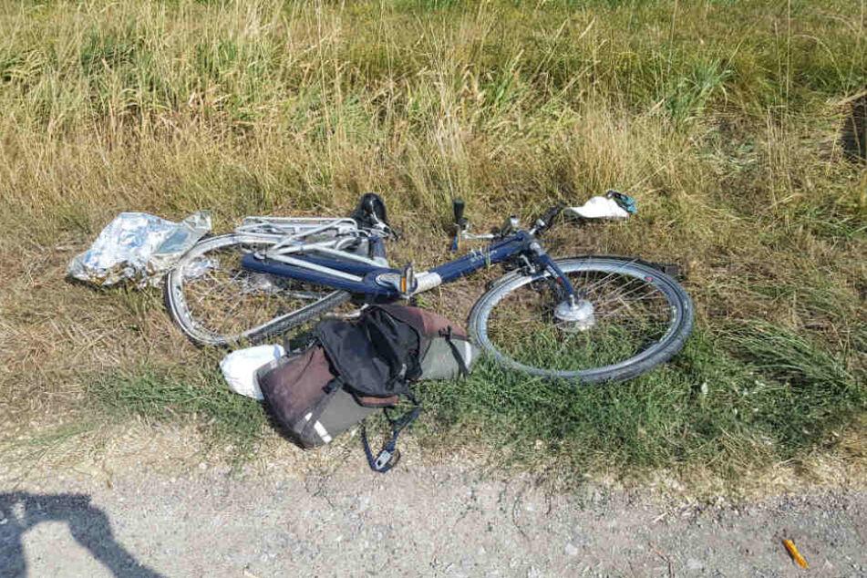 Für den 82-jährigen Fahrradfahrer kam jede Hilfe zu spät.