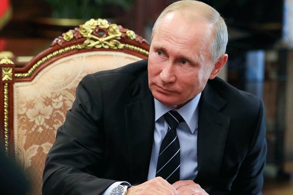 Präsident der Russischen Föderation: Wladimir Putin (64). Steckt er letzten Endes dahinter?