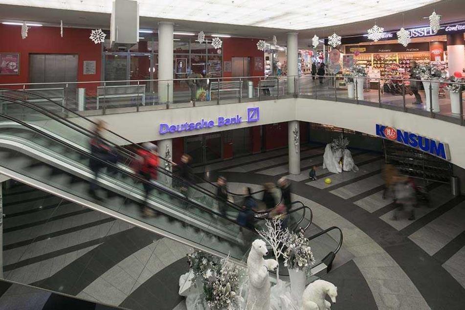 Konsum saniert seinen Markt in der Schillergalerie.