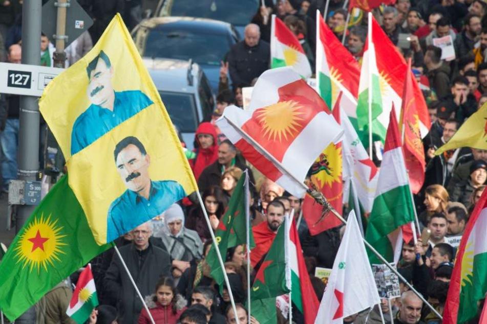 Die Kurden-Demo am 27. Januar 2018 in Köln.