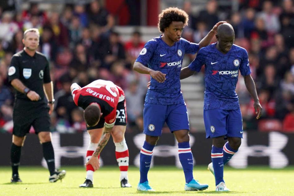 Am Sonntag verlor Southampton daheim mit 1:4 gegen den FC Chelsea. Es war die dritte Heimpleite im vierten Spiel.