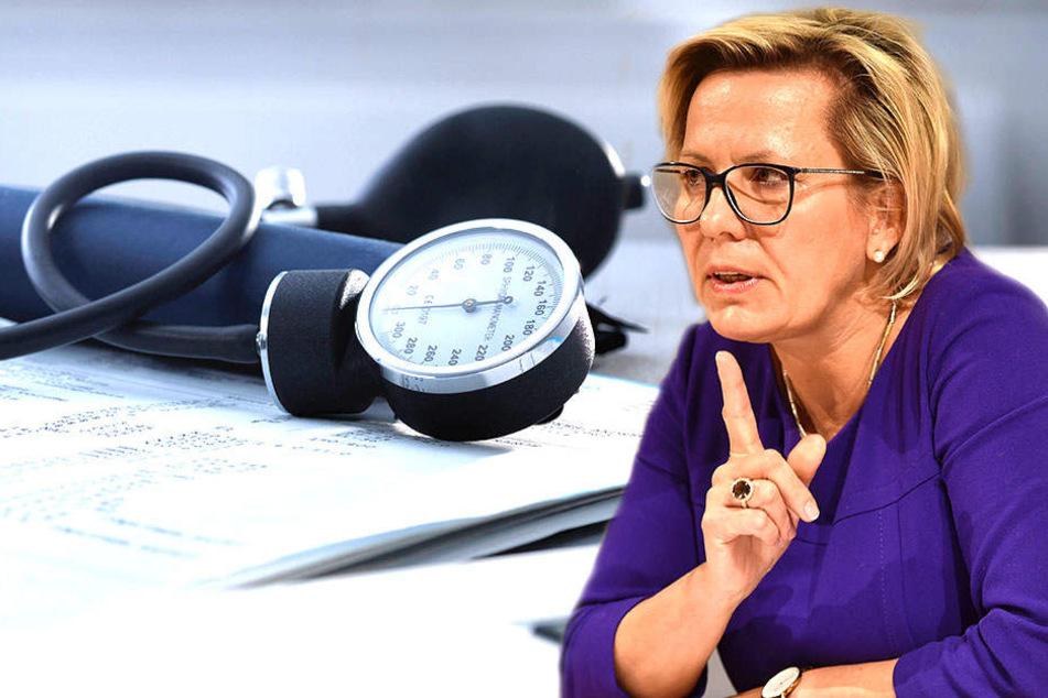 Gesundheitsministerin Barbara Klepsch (52).