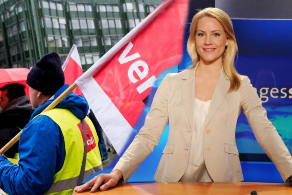 Streik beim NDR: Fällt die Tagesschau aus?