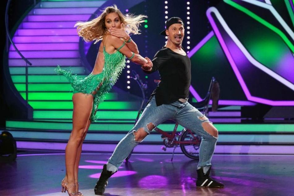 Ann-Kathrin Brömmel und Sergiu Luca landeten in der 5. Runde der RTL-Show auf dem letzten Platz.