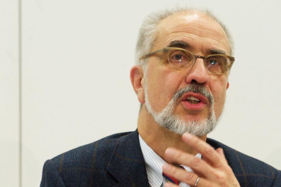 Seit 2005 war Wolfgang Fleig Medizinischer Vorstand des UKL.