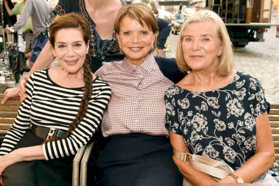 Die Best-Ager Hannelore Elsner (76), Uschi Glas (74) und Jutta Speidel (64) spielen zusammen in einem ARD-Film.
