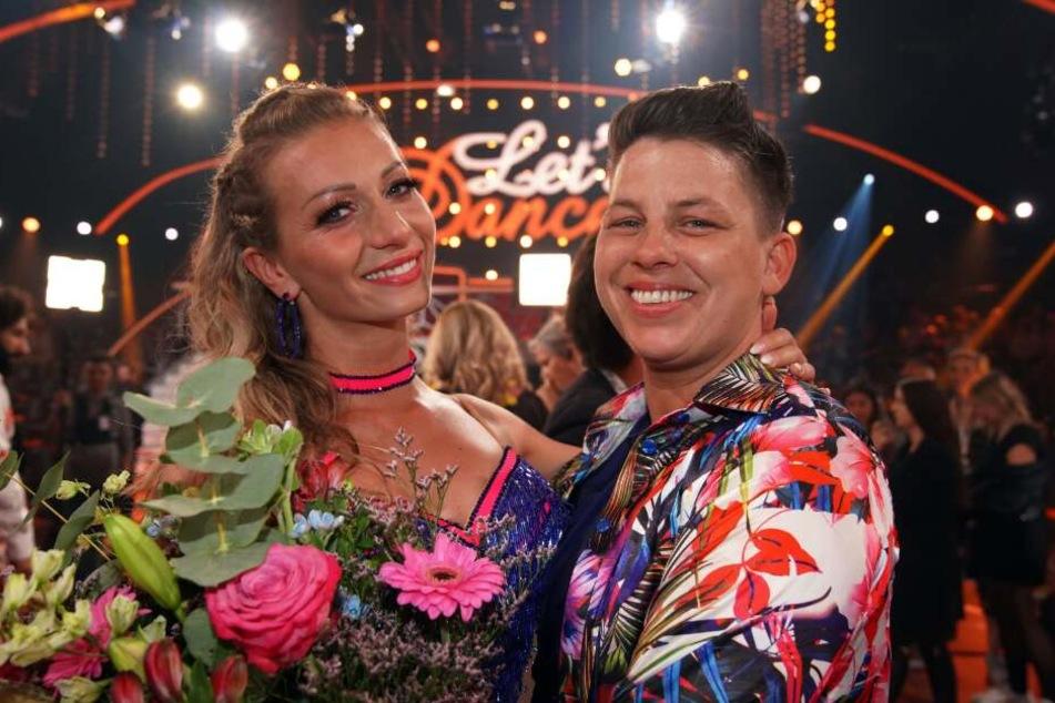 Kerstin Ott und Regina Luca schieden am Freitagabend aus und landeten damit auf Platz 10.