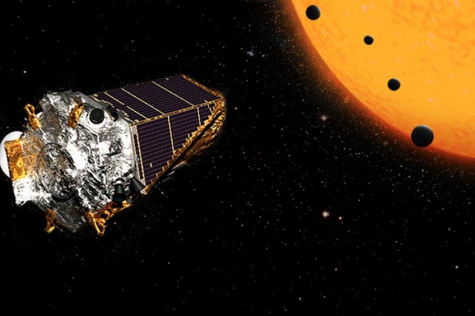 Mit dem Kepler-Teleskop wurden schon zehn Planeten entdeckt, auf denen außerirdisches Leben möglich wäre.