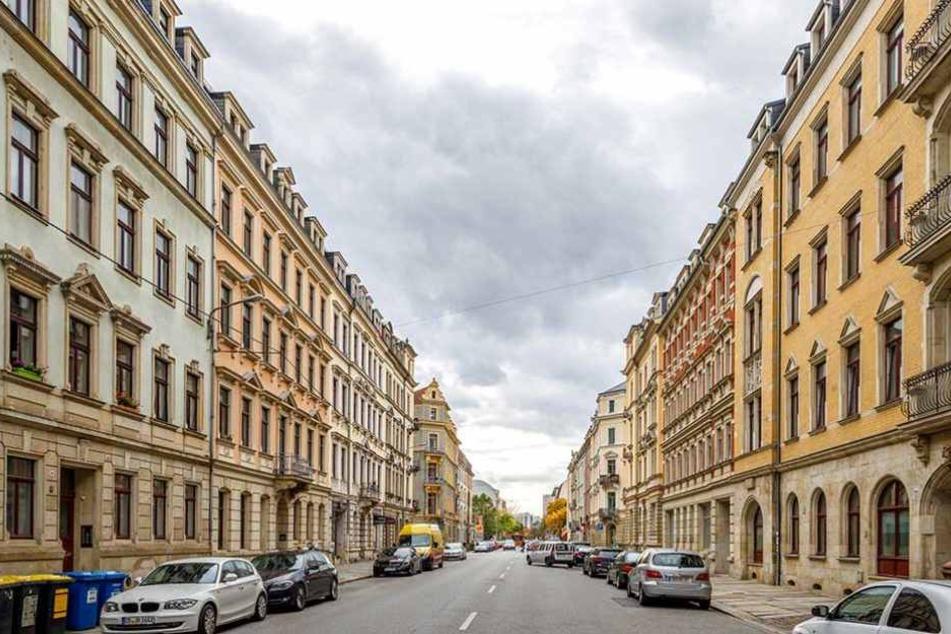 So sieht die Pfotenhauer Straße aktuell aus.