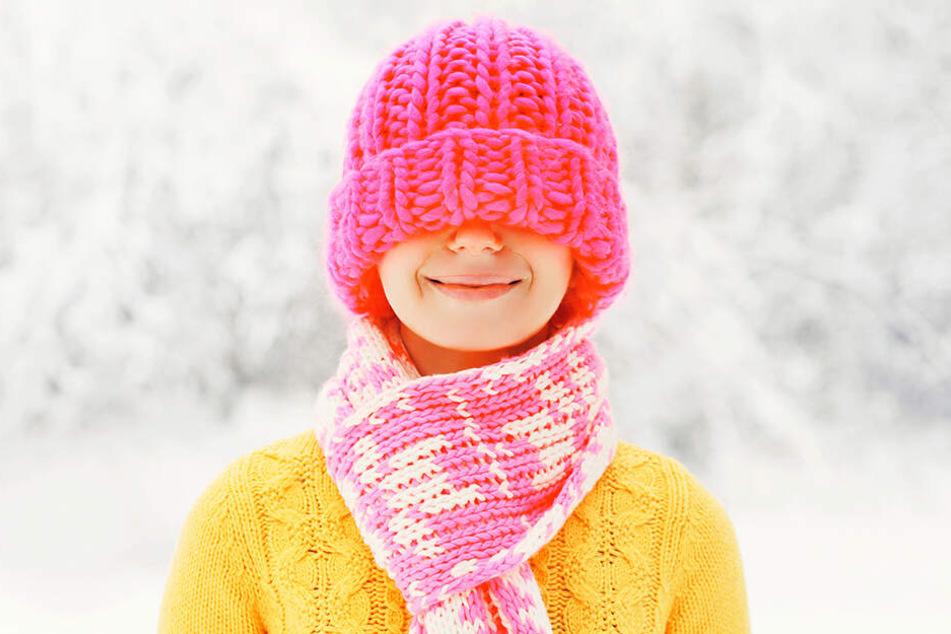 Die meiste Wärme geht über den Kopf verloren. Darum: Mütze aufsetzen!