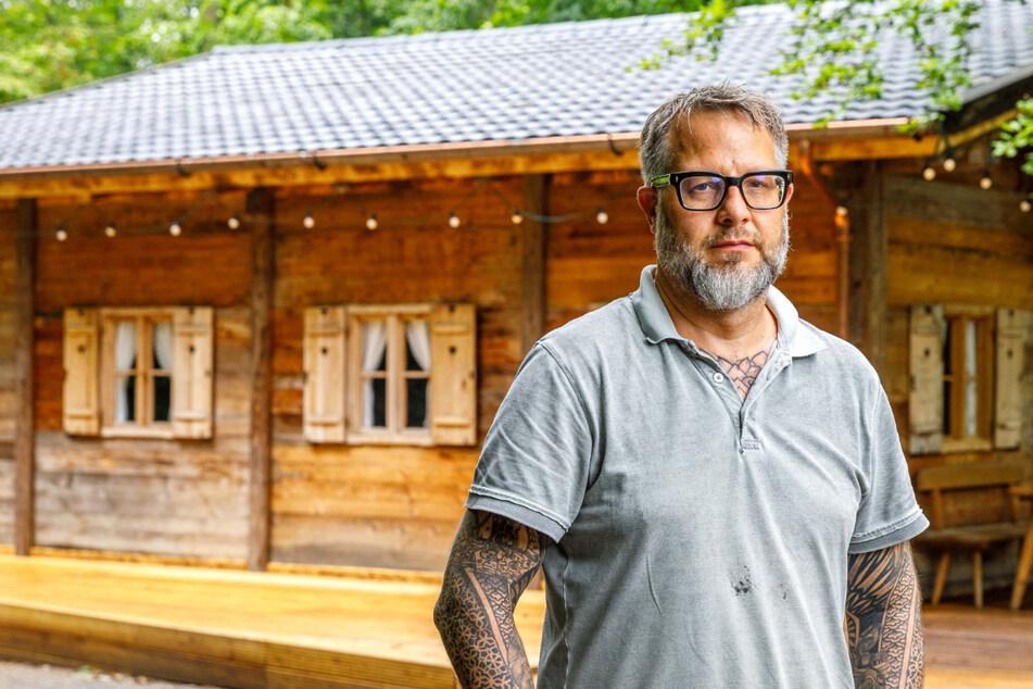 Sternekoch Stefan Hermann sauer: Vandalen demolieren Konzertplatz-Hütte