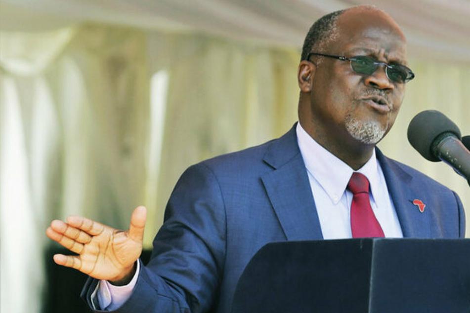 Der Präsident von Tansania John Magufuli (61) fordert die Bevölkerung auf, gegen das Coronavirus zu beten. (Archivbild)