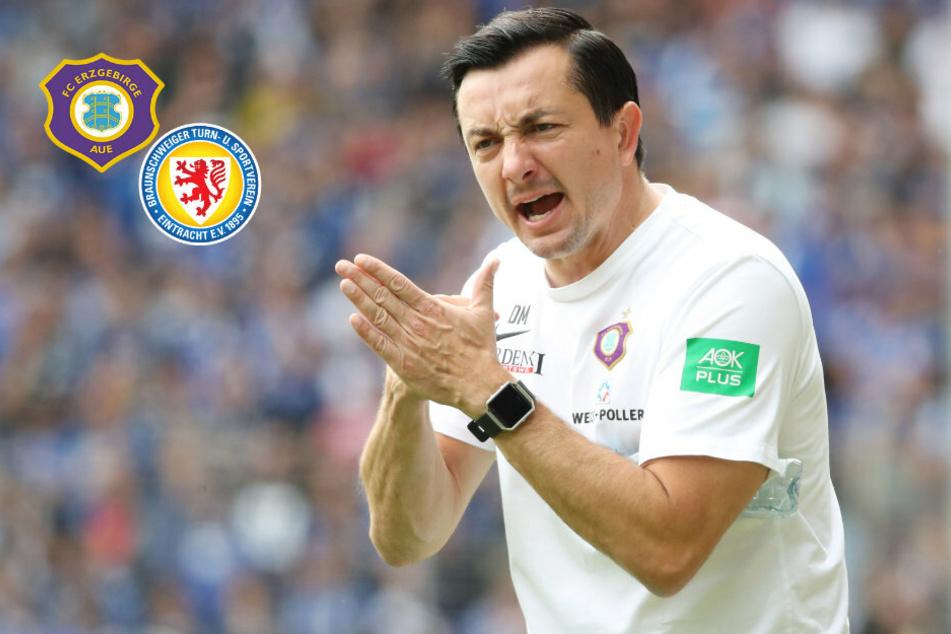 Geht Aues Ex-Coach Meyer nach Braunschweig?