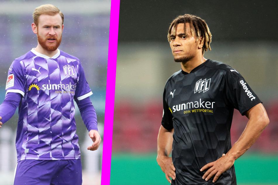 Sebastian Kerk (27, l.) und Etienne Amenyido (23) haben den VfL Osnabrück beide verlassen, brachten ihrem Klub aber immerhin eine Ablösesumme ein.