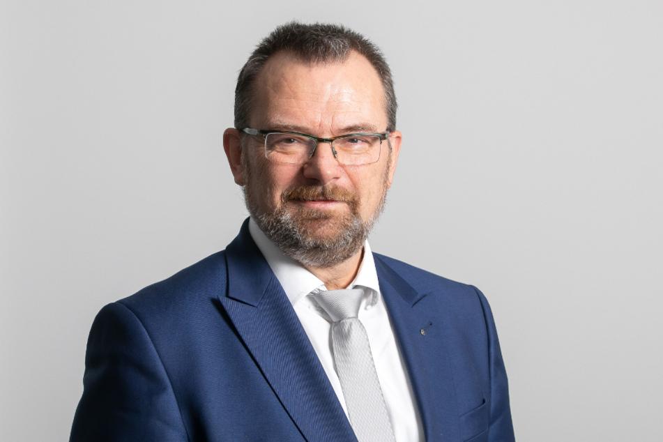 Sachsens Arbeitsagentur-Chef Klaus-Peter Hansen (57).