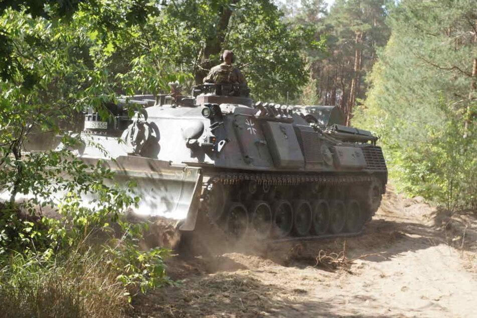Ein Panzer der Bundeswehr. (Symbolbild)