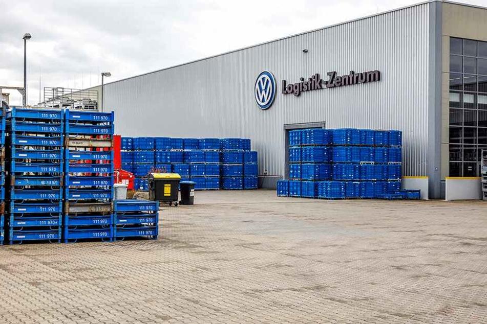 Im VW-Logistikzentrum in der Friedrichstadt (Potthoffstraße) wird die Cargo-Tram...