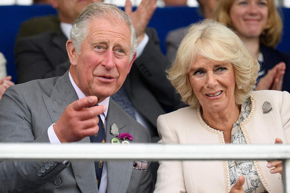 Meghan und Kates Schwiegereltern Prinz Charles und seine Ehefrau Herzogin Camilla.