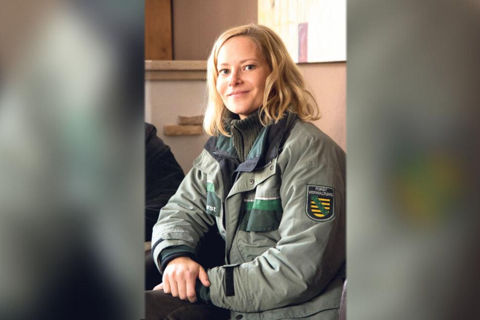 """Teresa Weißbach (38) ist gebürtige Zwickauerin und in Stollberg aufgewachsen. Im Erzgebirgskrimi """"Der Tote im Stollen"""" spielt sie die Försterin Saskia Bergelt."""
