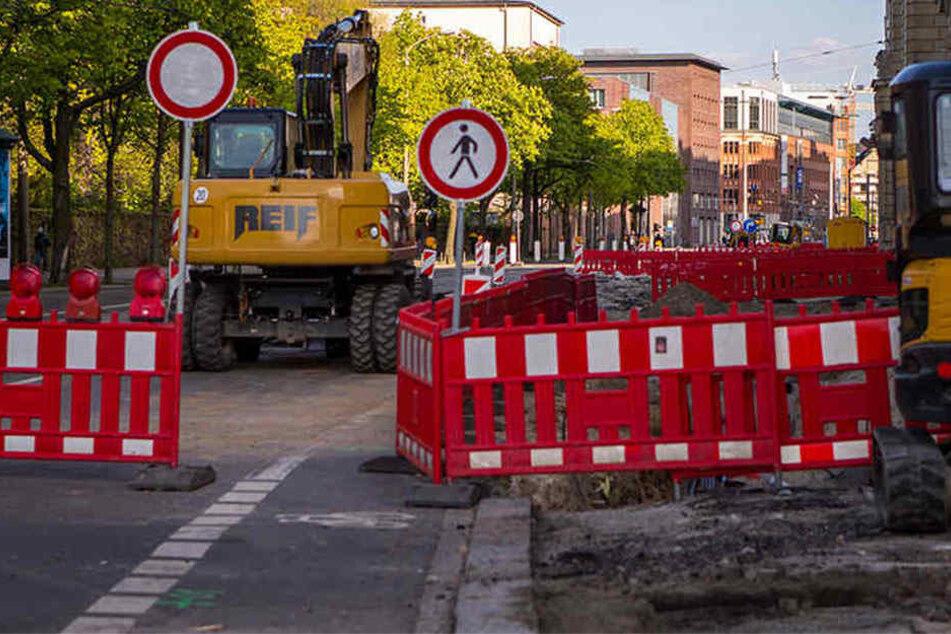 Kaum hat die Woche begonnen, gibt es neue Baustellen auf Leipzigs Straßen.