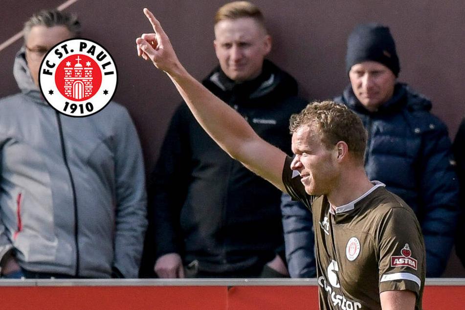 FC St. Pauli bangt nach Sieg um Torjäger Veerman