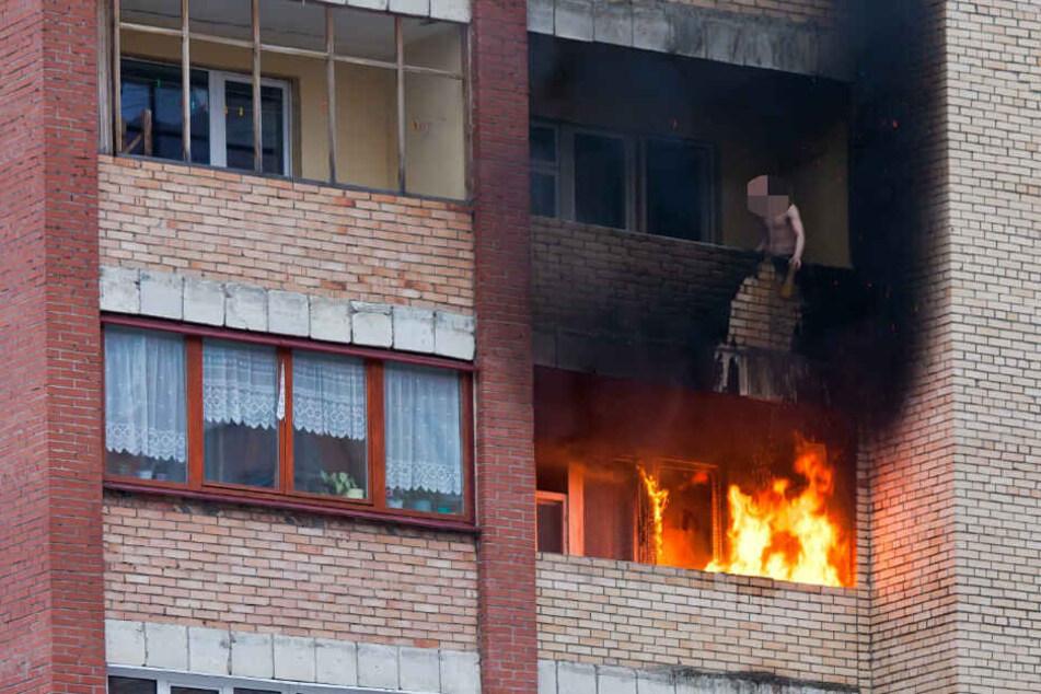 Bei der Explosion wurden das Küchenfenster zerstört. (Symbolbild)
