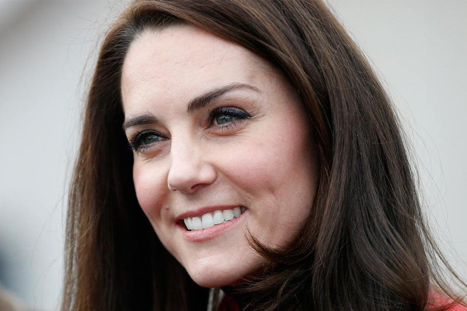 Herzogin Kate kann wieder strahlen.