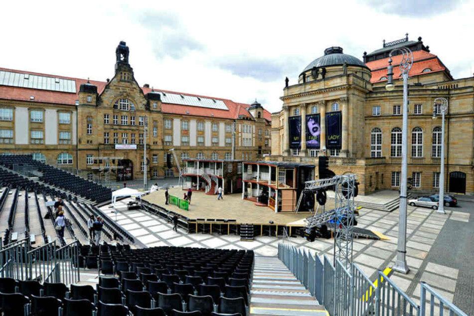 Zu teuer: Chemnitz verliert Open Air auf Theaterplatz