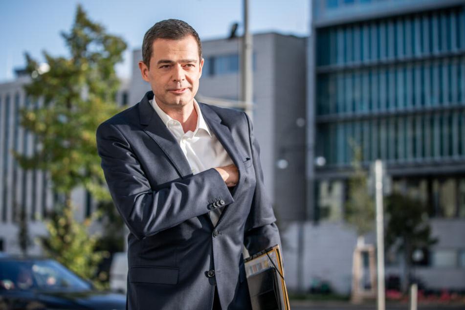 Mike Mohring und die CDU kamen in Thüringen nur als dritte Kraft ins Ziel.