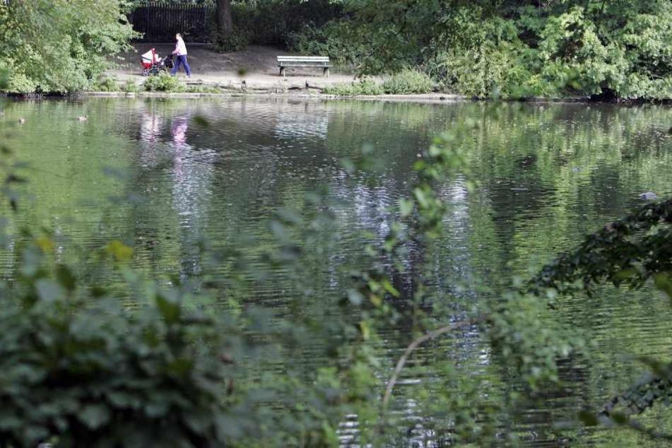 Im Wasser entdeckte der Stadt-Mitarbeiter die Frauenleiche. (Symbolbild)