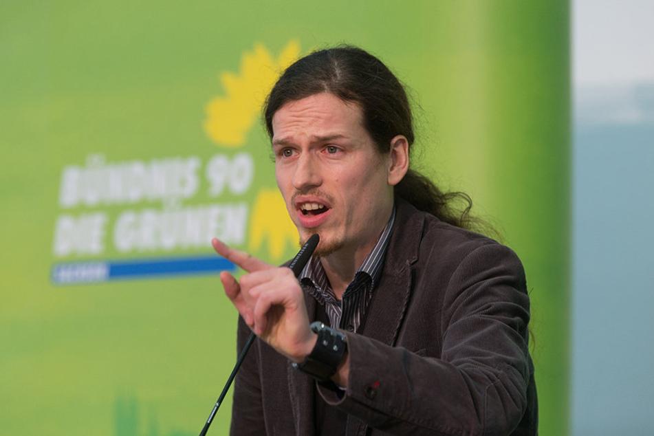 Wurde Jürgen Kasek (35) von seinem Parteifreund angezeigt?