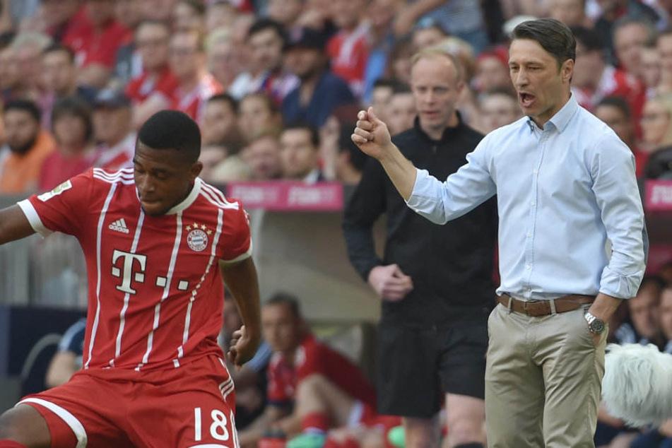 Niko Kovac (r.) soll den FC Bayern vor allem international zu Titeln führen.
