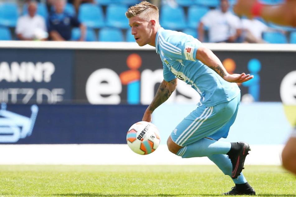Philip Türpitz verlässt den Chemnitzer FC.